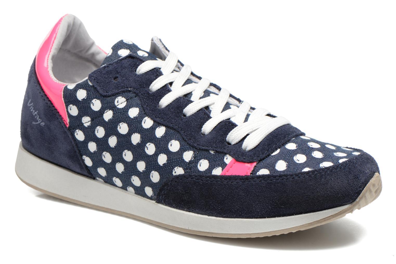 Baskets Ippon Vintage Run Pop Bleu vue détail/paire