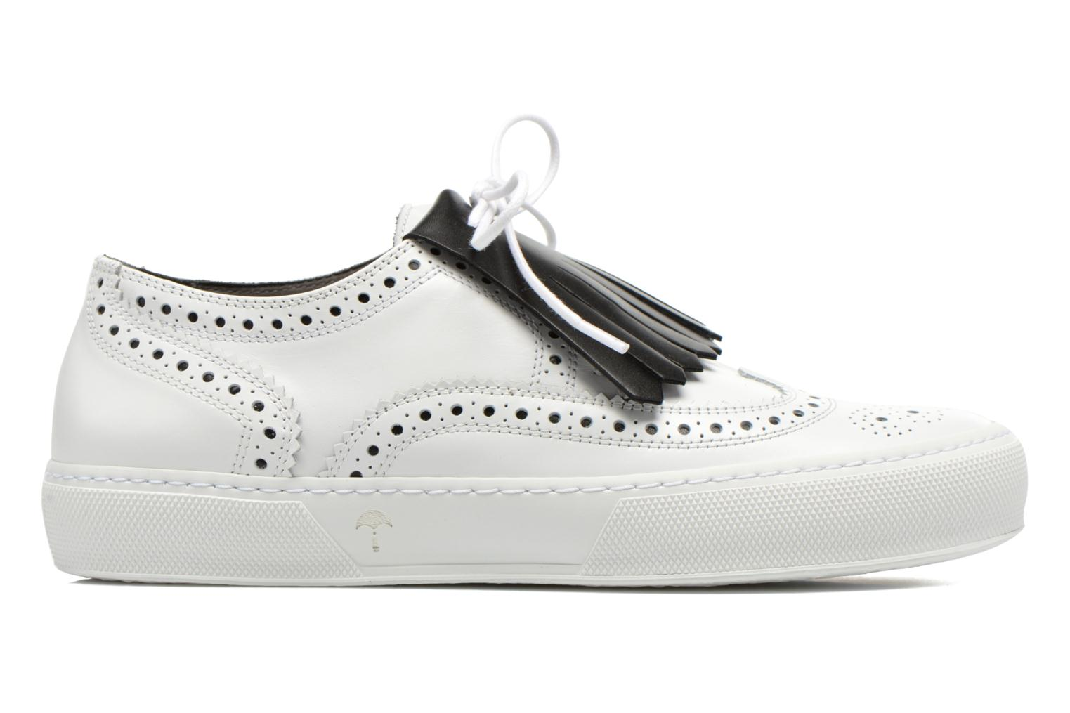 Lace-up shoes Clergerie Tolka02 White back view
