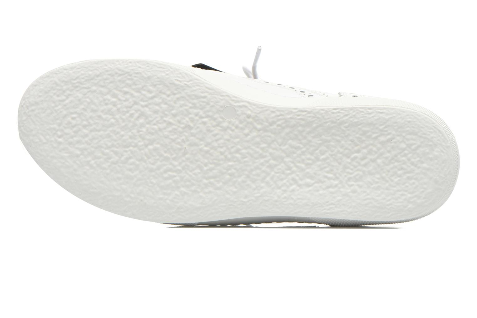 Lace-up shoes Clergerie Tolka02 White view from above
