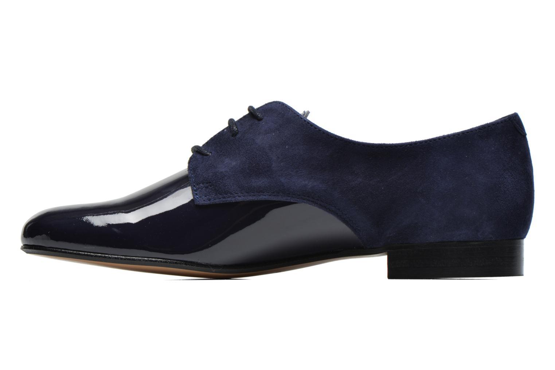 Chaussures à lacets Georgia Rose Volplané Bleu vue face