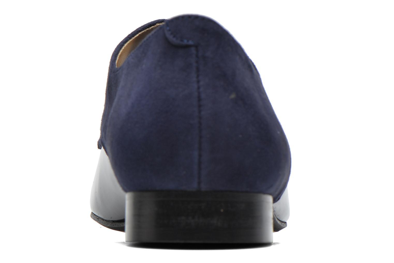 Chaussures à lacets Georgia Rose Volplané Bleu vue droite