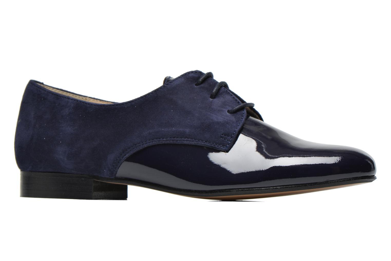 Chaussures à lacets Georgia Rose Volplané Bleu vue derrière