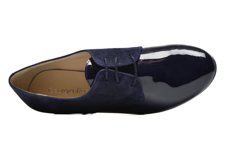 Chaussures à lacets Georgia Rose Volplané Bleu vue gauche