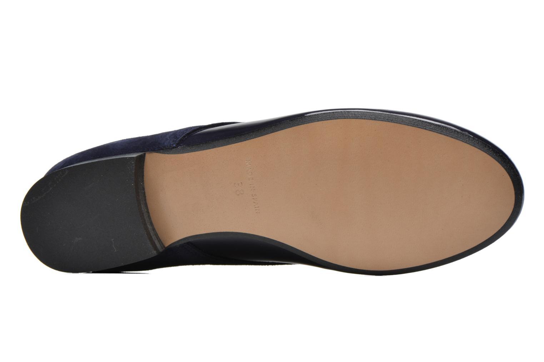 Chaussures à lacets Georgia Rose Volplané Bleu vue haut