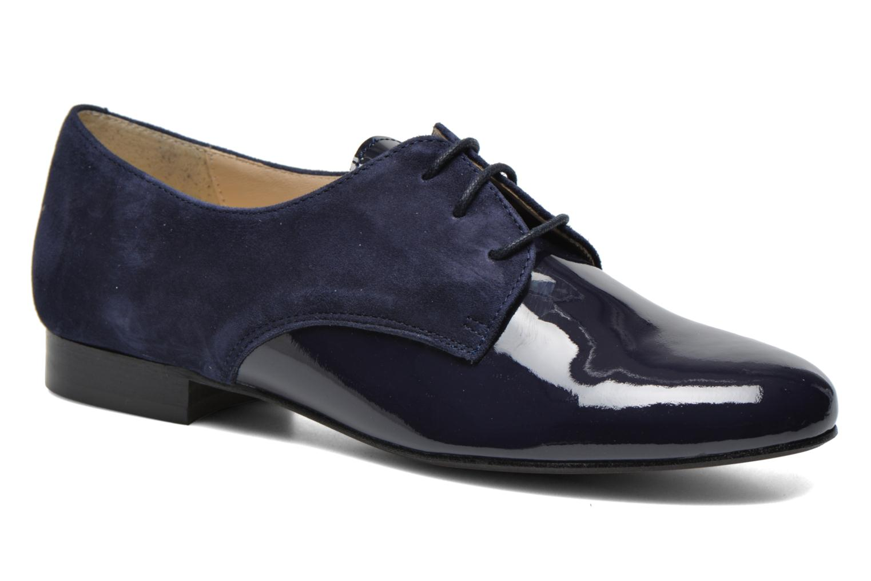 Chaussures à lacets Georgia Rose Volplané Bleu vue détail/paire