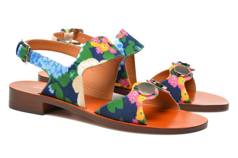Sandales et nu-pieds Carven Iopta Multicolore vue 3/4