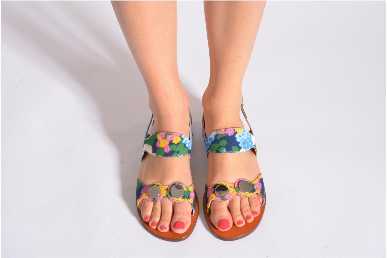 Sandales et nu-pieds Carven Iopta Multicolore vue bas / vue portée sac