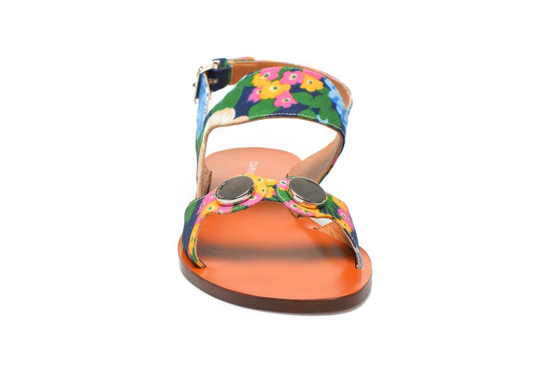 Sandalias Carven Iopta Multicolor vista del modelo