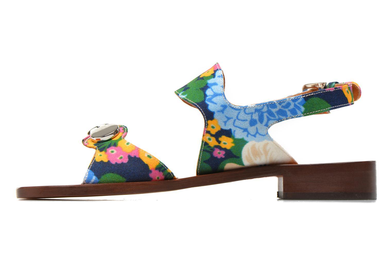 Sandales et nu-pieds Carven Iopta Multicolore vue face