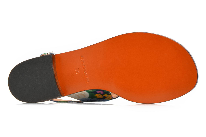Sandales et nu-pieds Carven Iopta Multicolore vue haut