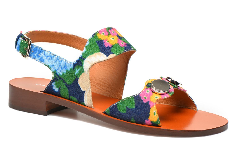 Sandalias Carven Iopta Multicolor vista de detalle / par