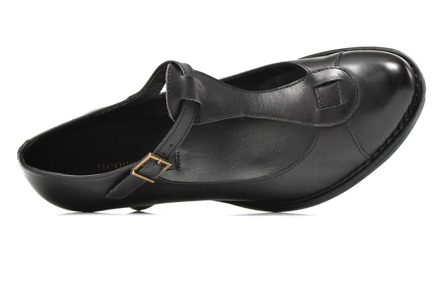 High heels Neosens Rococo S861 Black view from the left