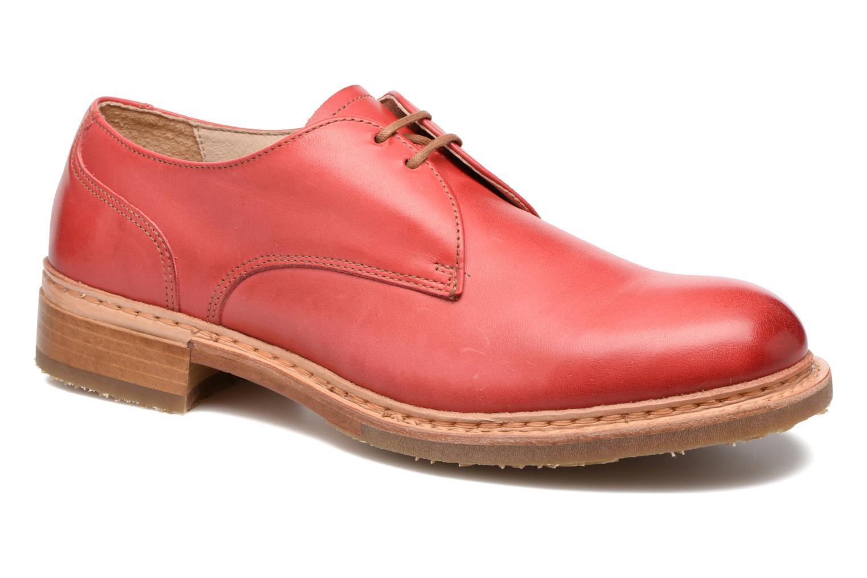Chaussures à lacets Neosens Hondarribi S895 Rouge vue 3/4