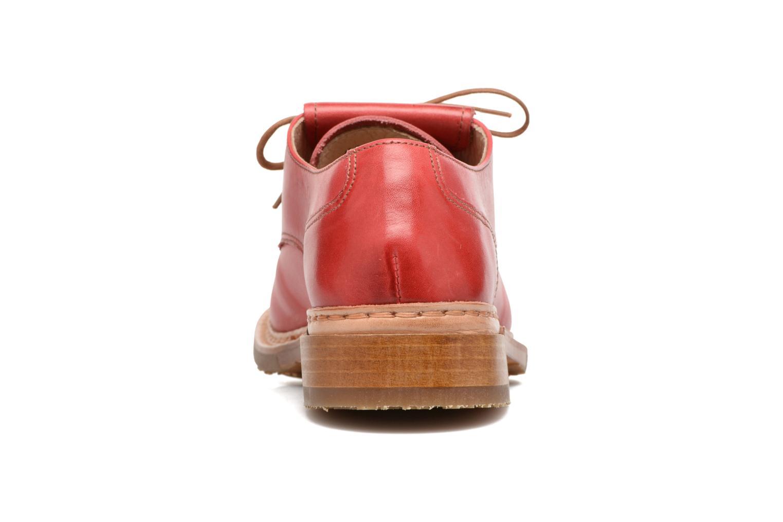 Chaussures à lacets Neosens Hondarribi S895 Rouge vue droite