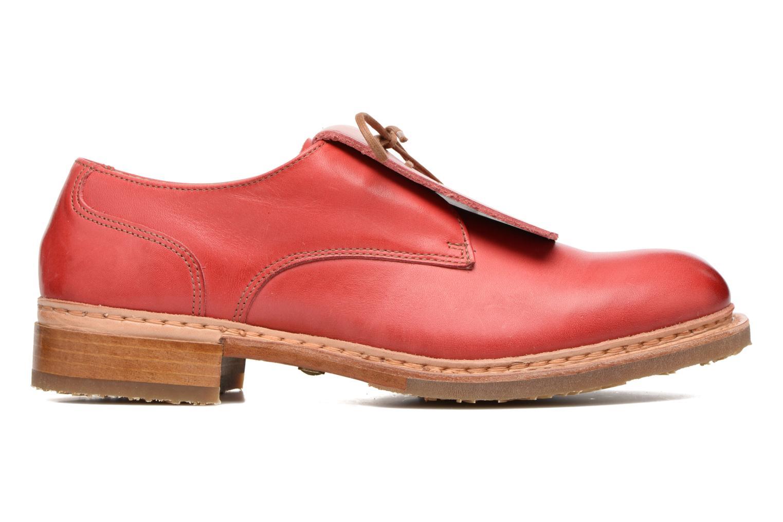 Chaussures à lacets Neosens Hondarribi S895 Rouge vue derrière