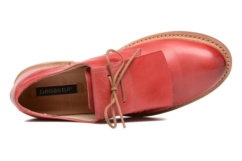 Chaussures à lacets Neosens Hondarribi S895 Rouge vue gauche