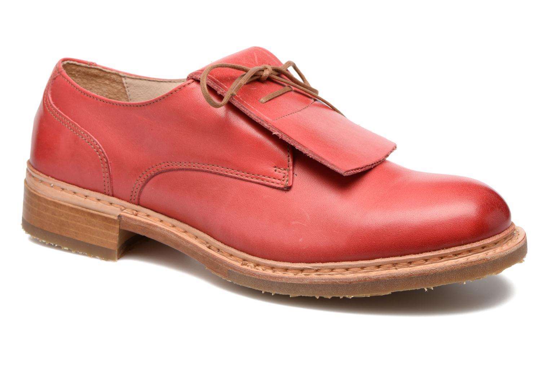 Chaussures à lacets Neosens Hondarribi S895 Rouge vue détail/paire