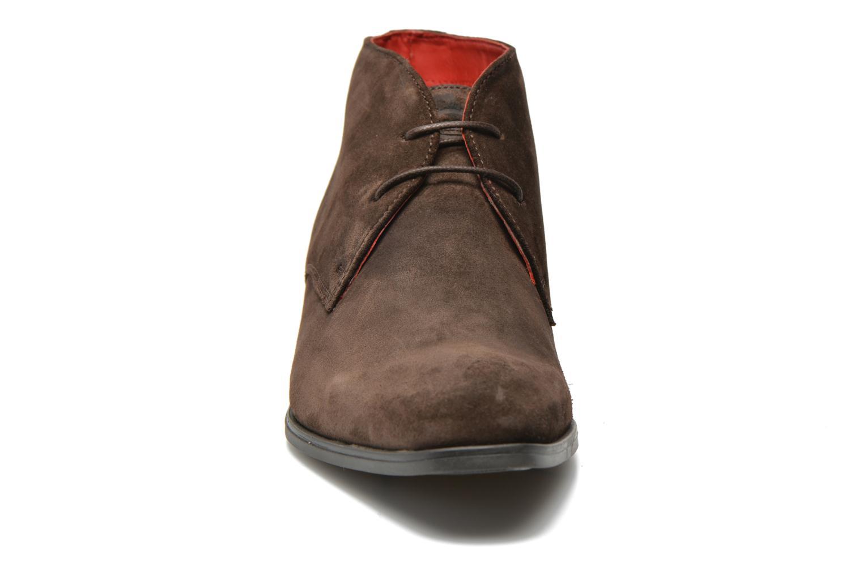 Chaussures à lacets Base London Monarch Henry Marron vue portées chaussures