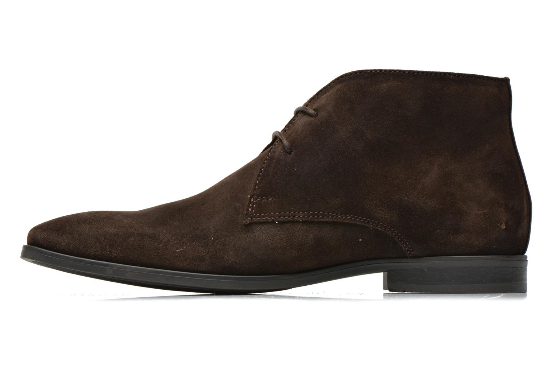 Chaussures à lacets Base London Monarch Henry Marron vue face