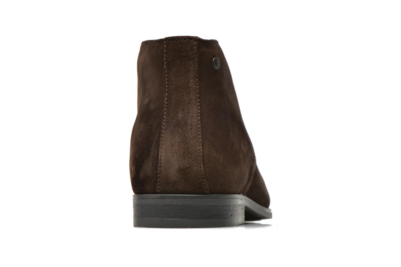 Chaussures à lacets Base London Monarch Henry Marron vue droite