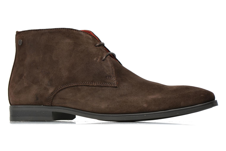 Chaussures à lacets Base London Monarch Henry Marron vue derrière
