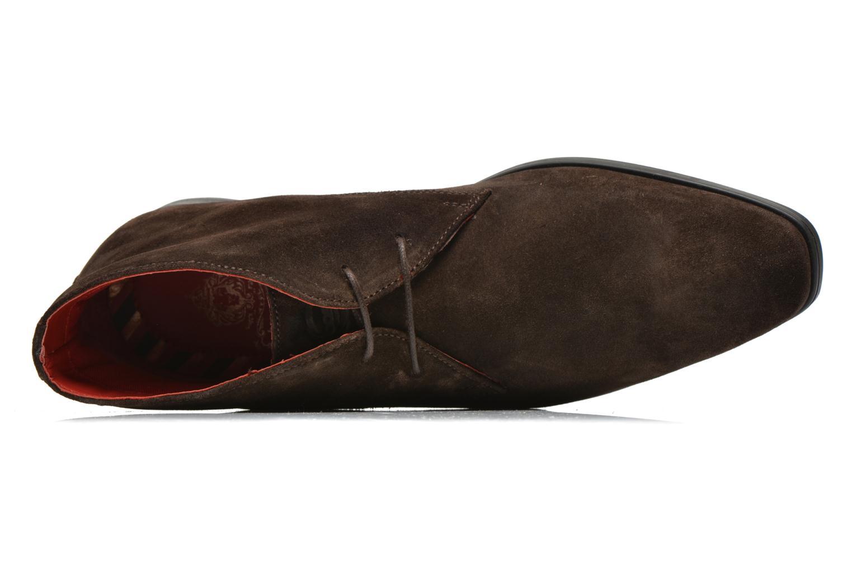 Chaussures à lacets Base London Monarch Henry Marron vue gauche
