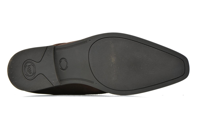 Chaussures à lacets Base London Monarch Henry Marron vue haut