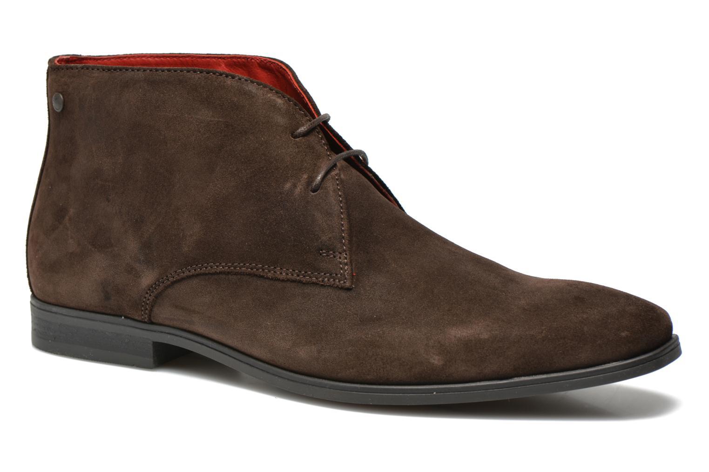 Chaussures à lacets Base London Monarch Henry Marron vue détail/paire