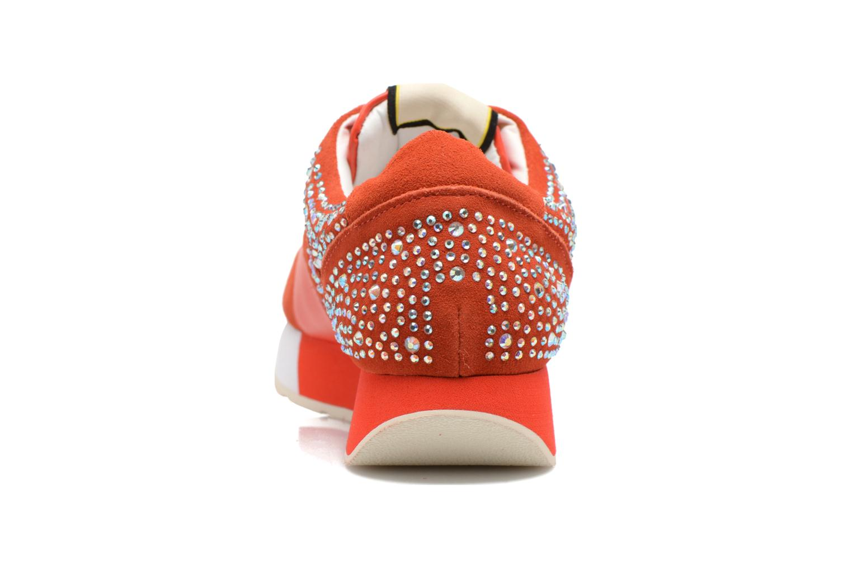 Baskets Liu Jo Clio basket Orange vue droite