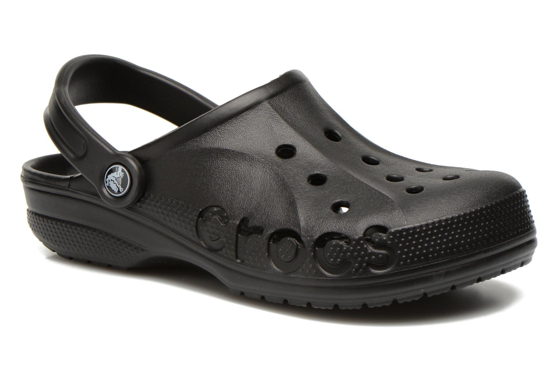 Mules & clogs Crocs Baya F Black detailed view/ Pair view