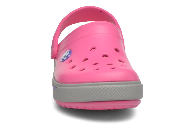 Sandales et nu-pieds Crocs Crocband II.5 Clog K Rose vue portées chaussures