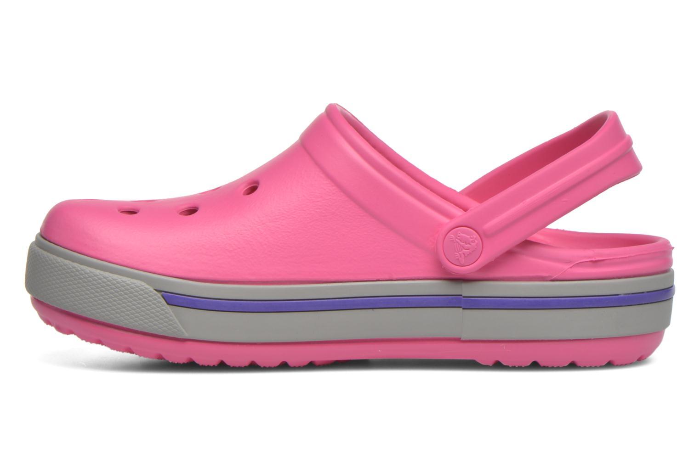 Sandales et nu-pieds Crocs Crocband II.5 Clog K Rose vue face