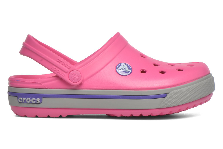 Sandales et nu-pieds Crocs Crocband II.5 Clog K Rose vue derrière
