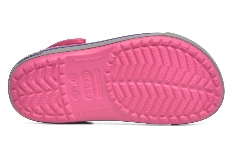 Sandales et nu-pieds Crocs Crocband II.5 Clog K Rose vue haut