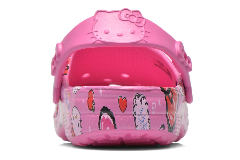 Sandali e scarpe aperte Crocs Hello Kitty Good Tim Rosa immagine destra