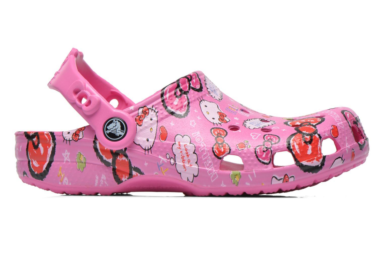 Sandales et nu-pieds Crocs Hello Kitty Good Tim Rose vue derrière