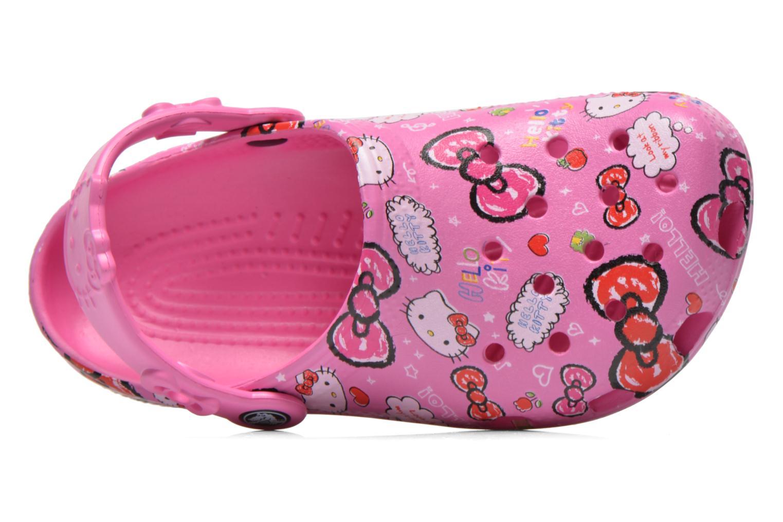 Sandales et nu-pieds Crocs Hello Kitty Good Tim Rose vue gauche