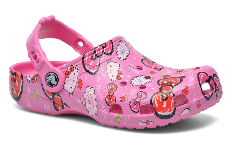 Sandales et nu-pieds Crocs Hello Kitty Good Tim Rose vue détail/paire