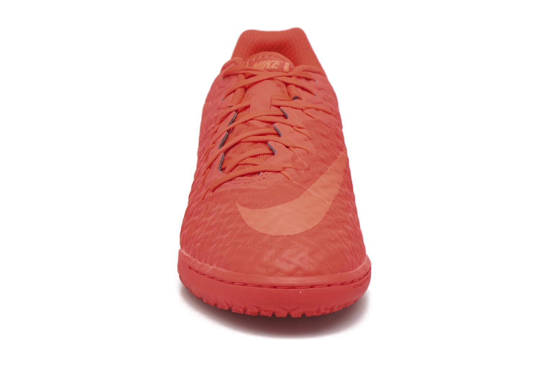 Chaussures de sport Nike Hypervenomx Finale Ic Orange vue portées chaussures