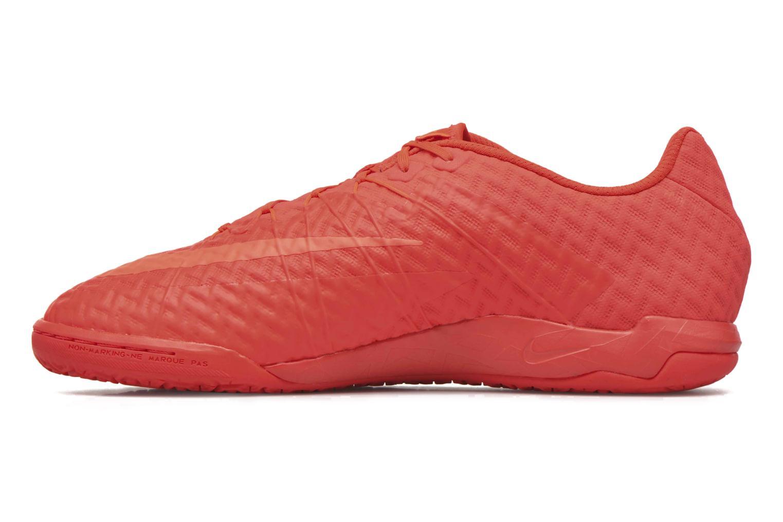 Chaussures de sport Nike Hypervenomx Finale Ic Orange vue face