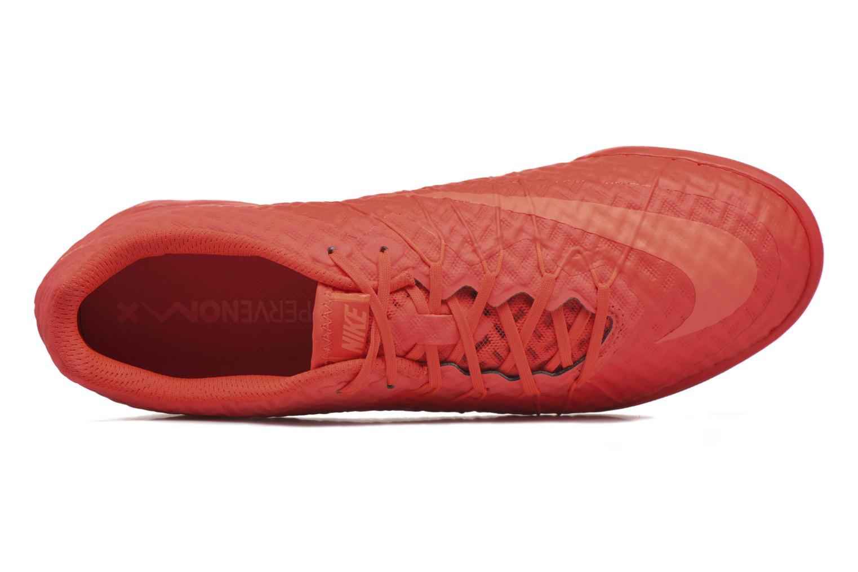 Chaussures de sport Nike Hypervenomx Finale Ic Orange vue gauche