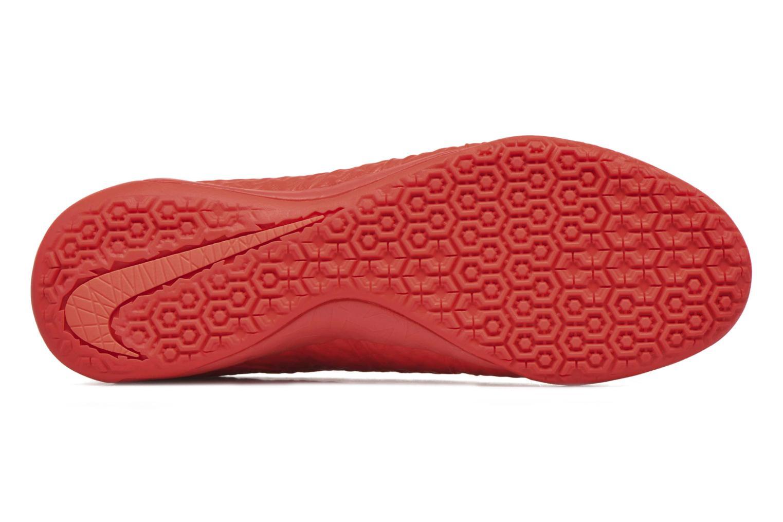 Chaussures de sport Nike Hypervenomx Finale Ic Orange vue haut