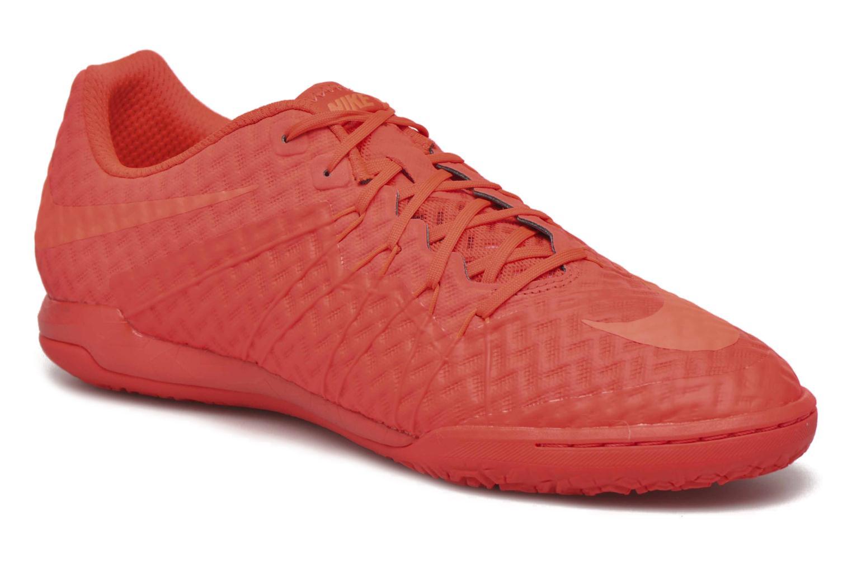 Chaussures de sport Nike Hypervenomx Finale Ic Orange vue détail/paire