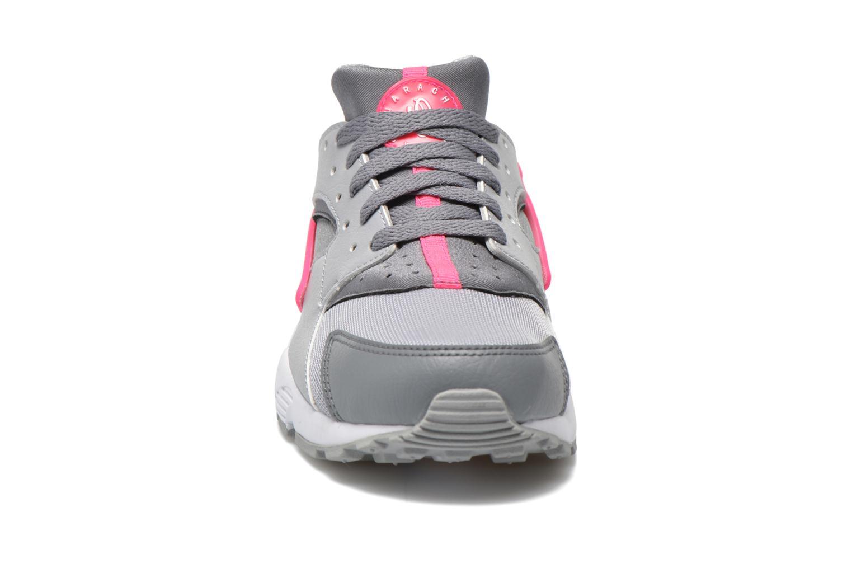 Sneakers Nike Nike Huarache Run (Gs) Grigio modello indossato