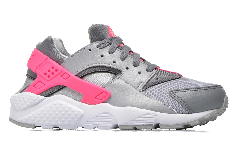 Sneakers Nike Nike Huarache Run (Gs) Grigio immagine posteriore