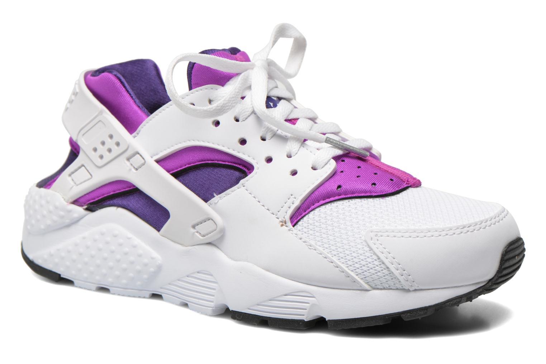 Nike Huarache Run (Gs) White White-Hypr Vlt-Crt Prpl