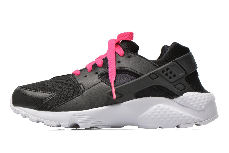 Baskets Nike Nike Huarache Run (Gs) Noir vue face