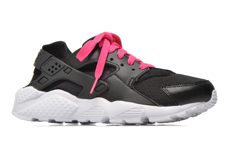 Nike Huarache Run (Gs) Black White-Pink Blast