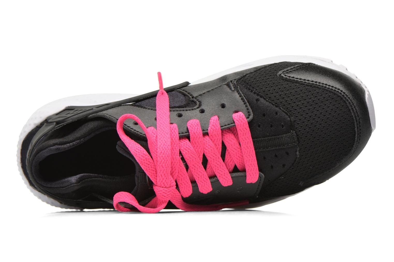 Baskets Nike Nike Huarache Run (Gs) Noir vue gauche