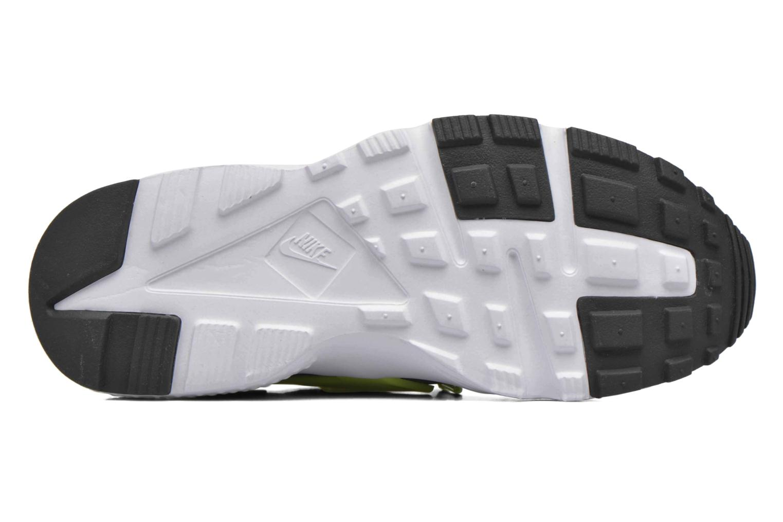 Nike Huarache Run (Gs) Black/volt-dark grey-white